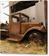Old Truck In Old Forgotten Places Acrylic Print