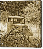 Old Truck Acrylic Print