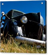 Old Truck Low Perspective Acrylic Print