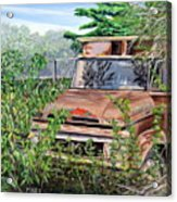 Old Truck Rusting Acrylic Print