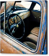 Old Truck Rusty Acrylic Print