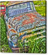001 - Old Trucks Acrylic Print