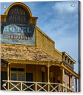 Old Tucson Saloon Acrylic Print
