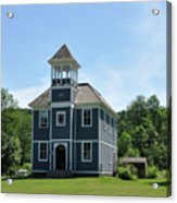 Old Two Room School House Acrylic Print