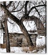 Old Ulm Barn Acrylic Print