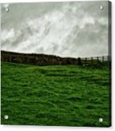Old Wall, New Gate Acrylic Print