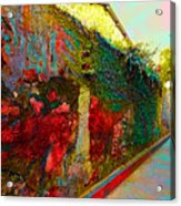 Old Wall Of The Ancient City Acrylic Print
