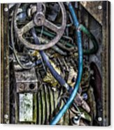 Old Washing Machine Works Acrylic Print