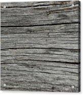 Old Weathered Wood Board Acrylic Print