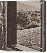 Old West Acrylic Print