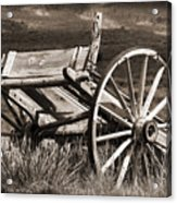 Old Wheels 2 Acrylic Print