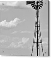 Old Windmill II Acrylic Print
