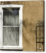 Old Window Acrylic Print