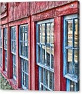 Old Windows Acrylic Print