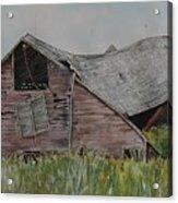 Old Wisconsin Barn Acrylic Print