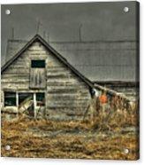 Old Wood Barn Acrylic Print