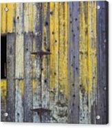 Old Wooden Barn Acrylic Print