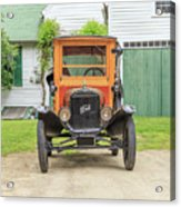 Old Woodie Model T Ford  Acrylic Print