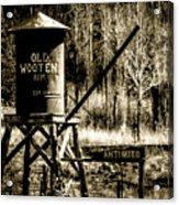 Old Wooten Acrylic Print