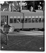 Old Ybor City Trolley Acrylic Print