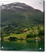 Olden Fjord, Norway Acrylic Print