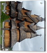 Oldest Church In Norway Acrylic Print