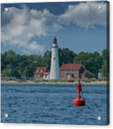 Oldest Lighthouse In Michigan Acrylic Print