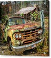 Oldie But Goodie 1959 Dodge Pickup Truck Acrylic Print