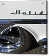 Oldsmobile Holiday Emblem Acrylic Print