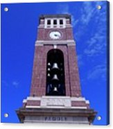 Ole Miss Bell Tower Acrylic Print