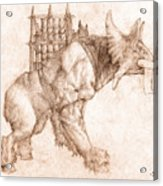 Oliphaunt Acrylic Print by Curtiss Shaffer