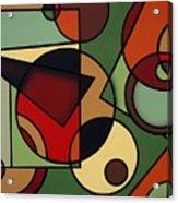 Olive Acrylic Print
