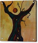 Olive Tree Woman Acrylic Print