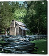 Oliver Cabin Acrylic Print