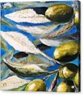 Olives Extract Acrylic Print