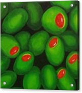 Olives Acrylic Print