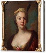 Olof Arenius, Ulrika Eleonora Ribbing Af Zernava 1723-1787 Acrylic Print