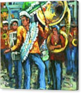 Olympia Brass Band Acrylic Print