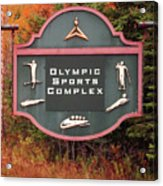 Olympic Complex  Acrylic Print