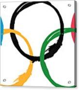 Olympic Ensos Acrylic Print