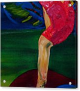 Olympic Gymnast Nastia Liukin  Acrylic Print
