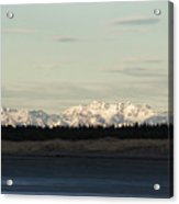 Olympic Mountains Acrylic Print