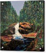Olympic Park Waterfall Acrylic Print