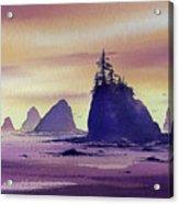 Olympic Seashore Acrylic Print