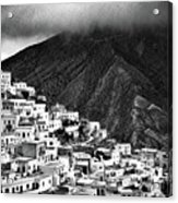 Olympos. Karpathos Island Greece Acrylic Print