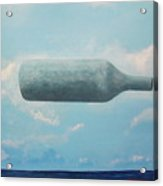 Omaggio A Magritte Acrylic Print