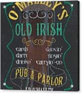 O'malley's Old Irish Pub Acrylic Print