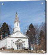 Omena Presbyterian Church Acrylic Print