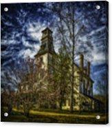 Ominous Batsto Mansion Acrylic Print