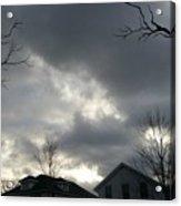 Ominous Clouds Acrylic Print